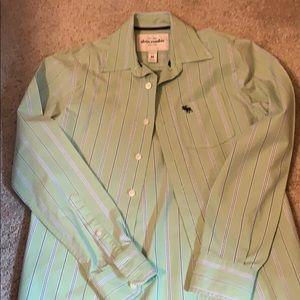 Abercrombie kids button down shirt